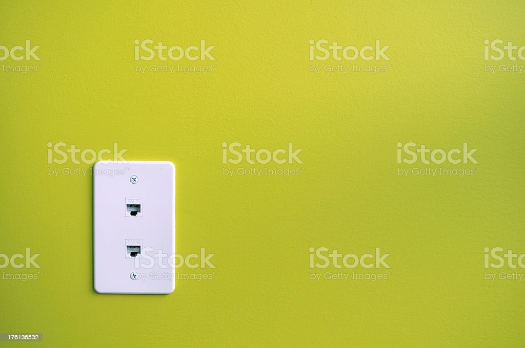 Internet Outlet stock photo
