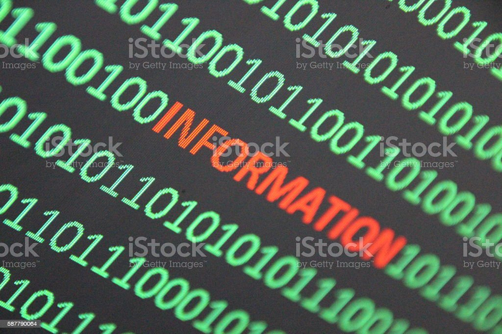 Internet Personal Information stock photo