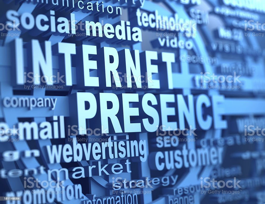 internet presence royalty-free stock photo