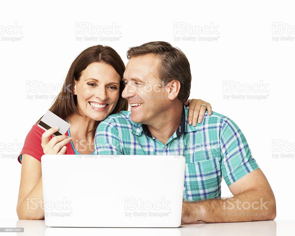 Internet Shopping - Isolated royalty-free stock photo