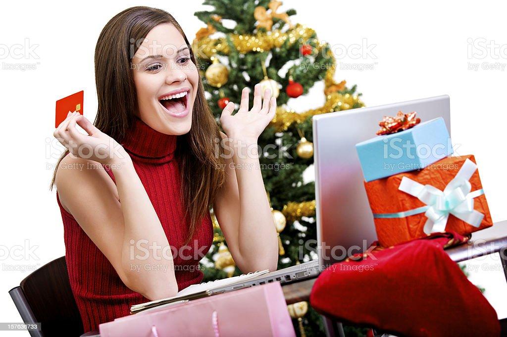 Internet shopping royalty-free stock photo