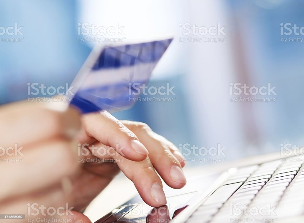 Internet shopping royalty-free stock photo