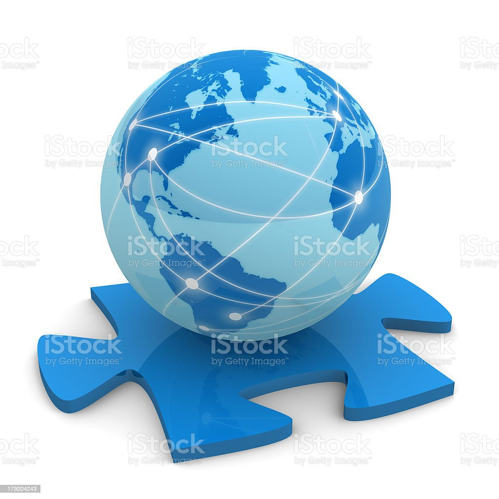 Internet Solutions royalty-free stock photo