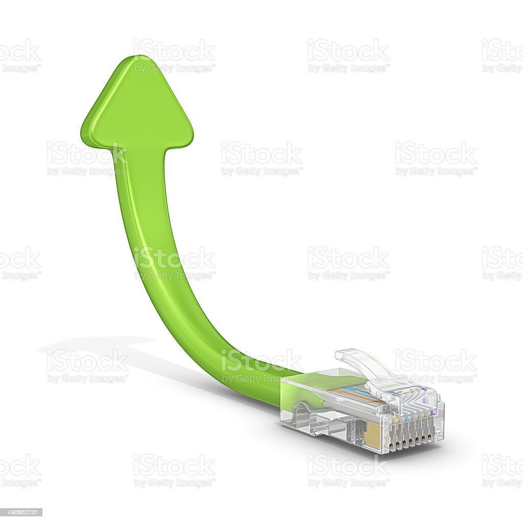 internet speed stock photo