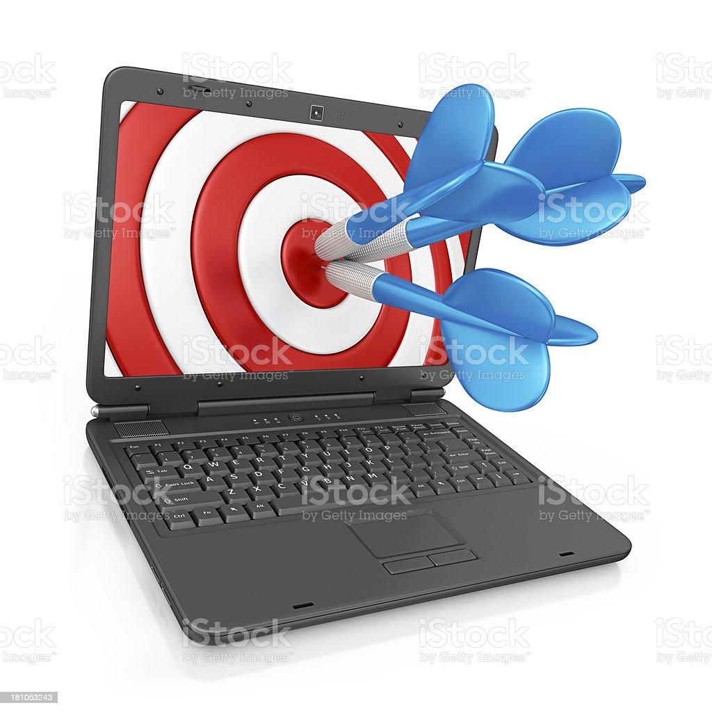 internet target stock photo