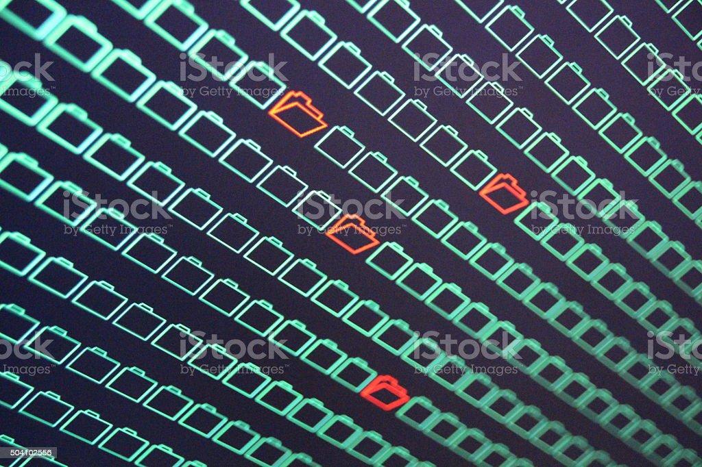 Internet theft stock photo