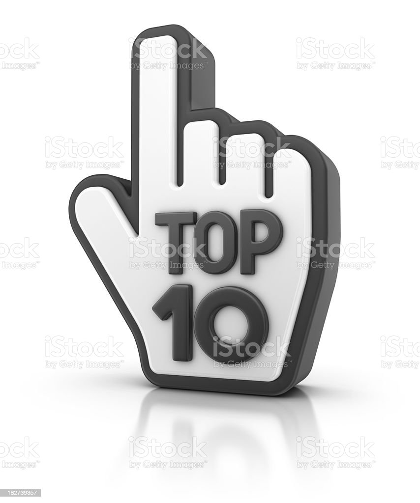 internet top ten royalty-free stock photo