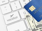 Internet vacation flight tickets