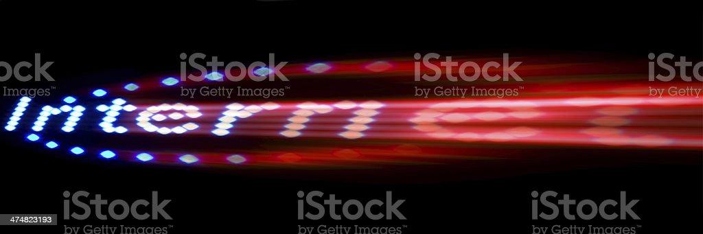 internet veloce royalty-free stock photo