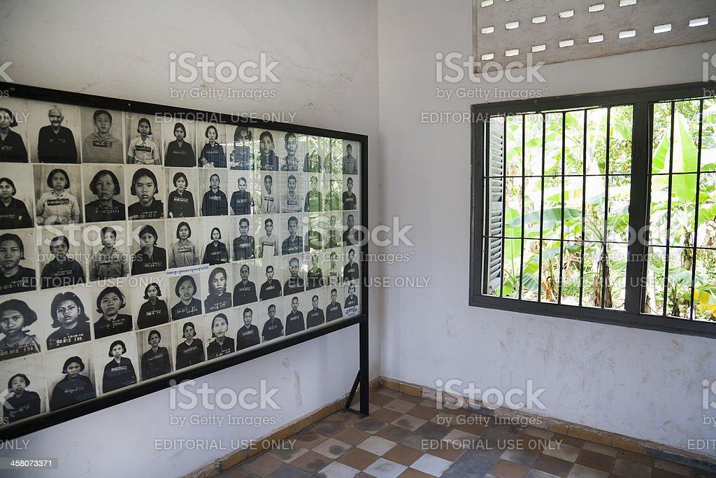 S21 Interogation camp in Phnom Penh stock photo