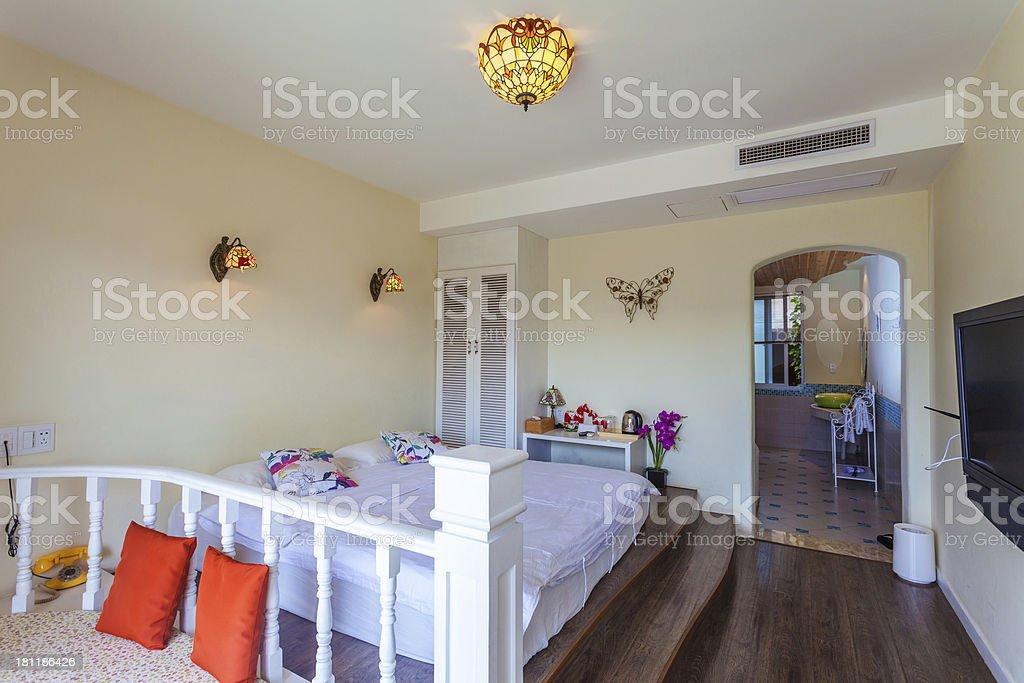 interoir of bedroom royalty-free stock photo