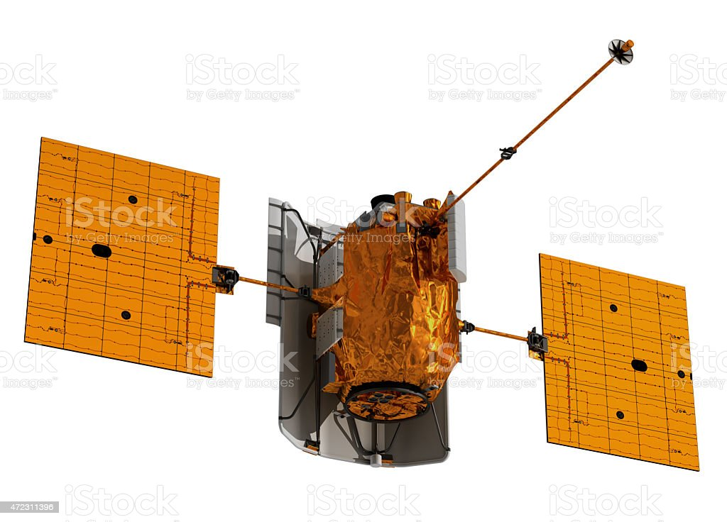 Interplanetary Space Station stock photo