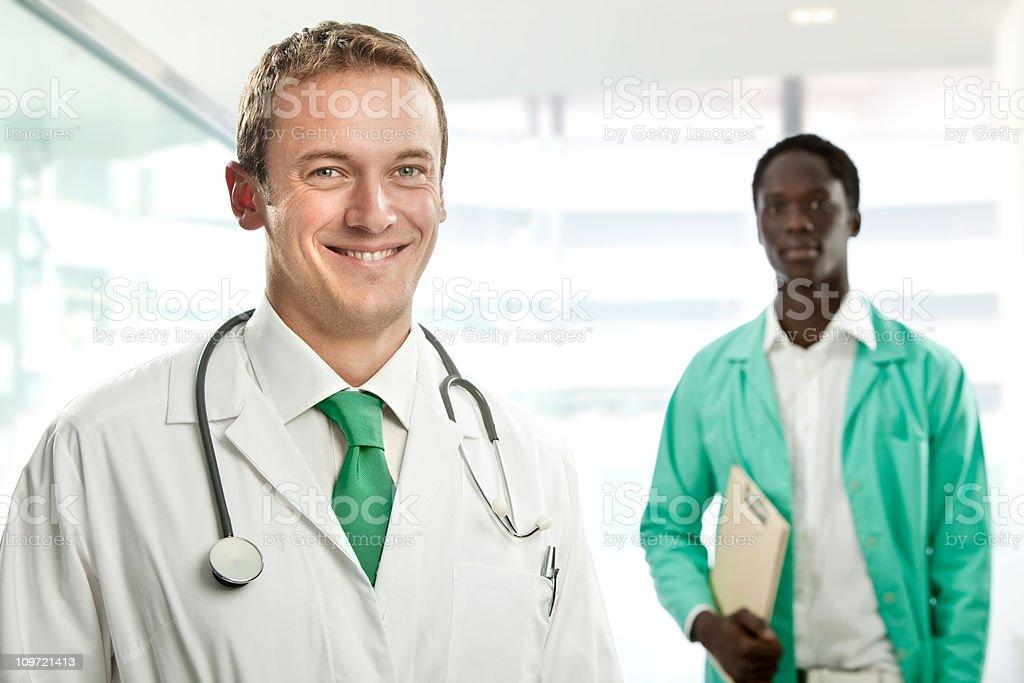 interracial  work team stock photo