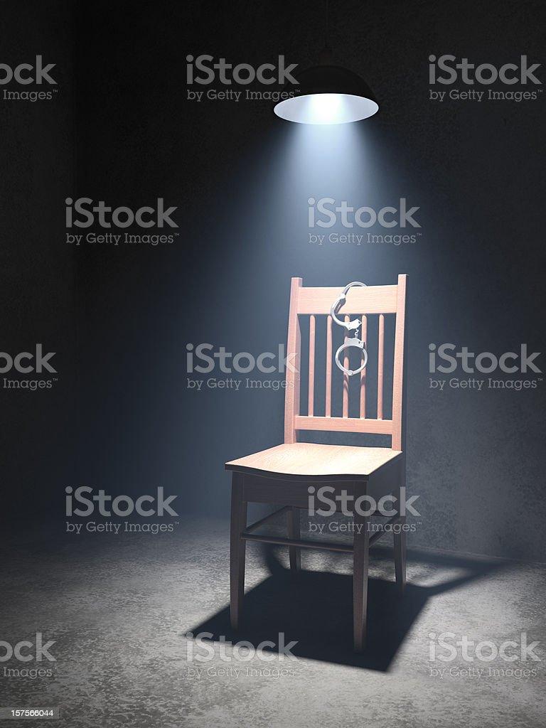 Interrogation Room stock photo
