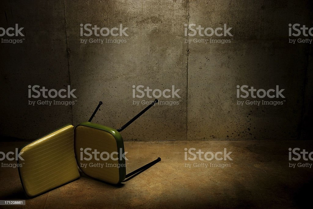 Interrogation Room royalty-free stock photo