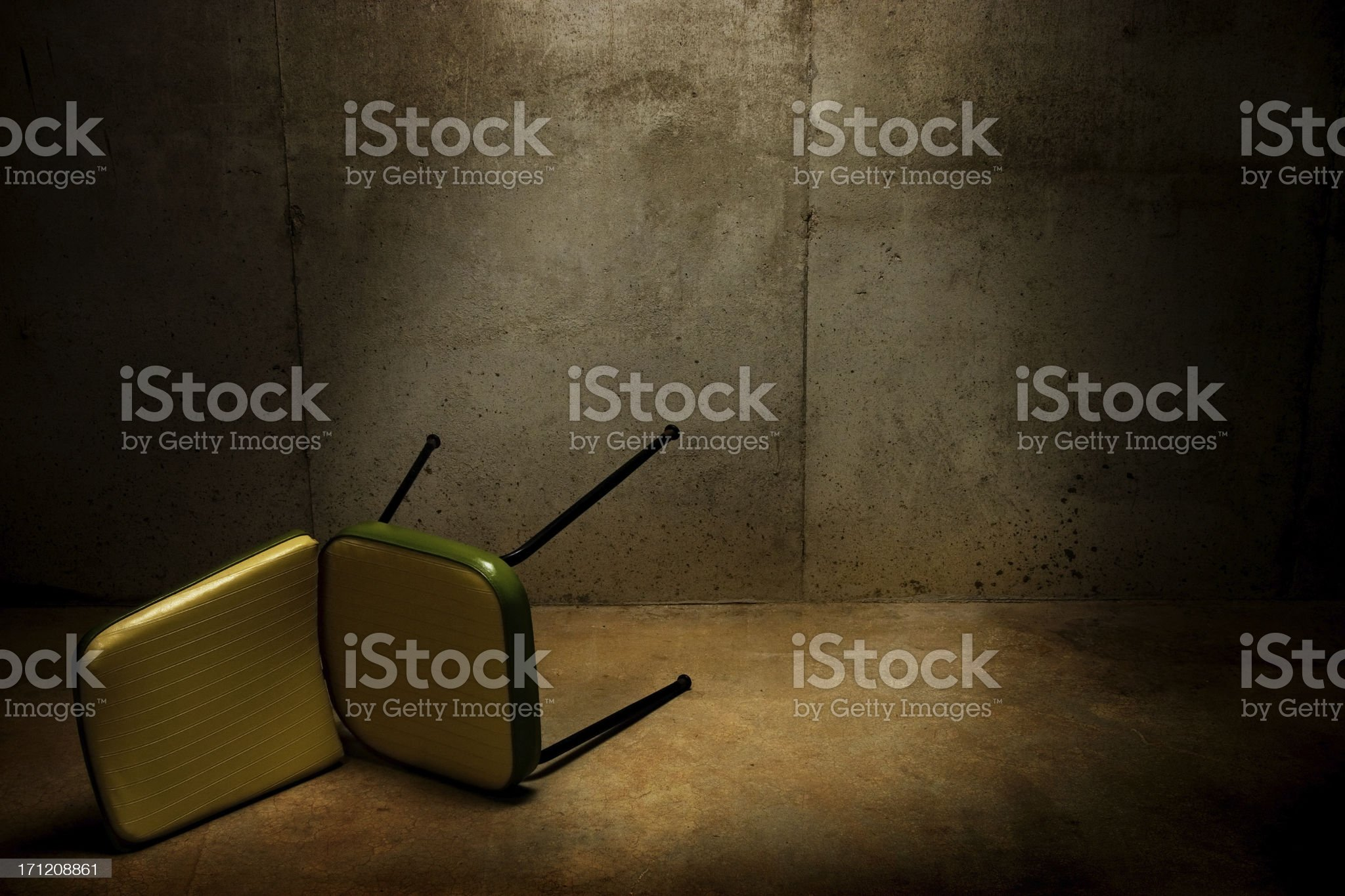 Interrogation Room royalty-free stock photo
