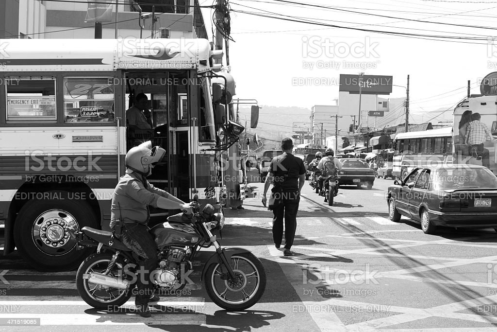 Intersection stock photo