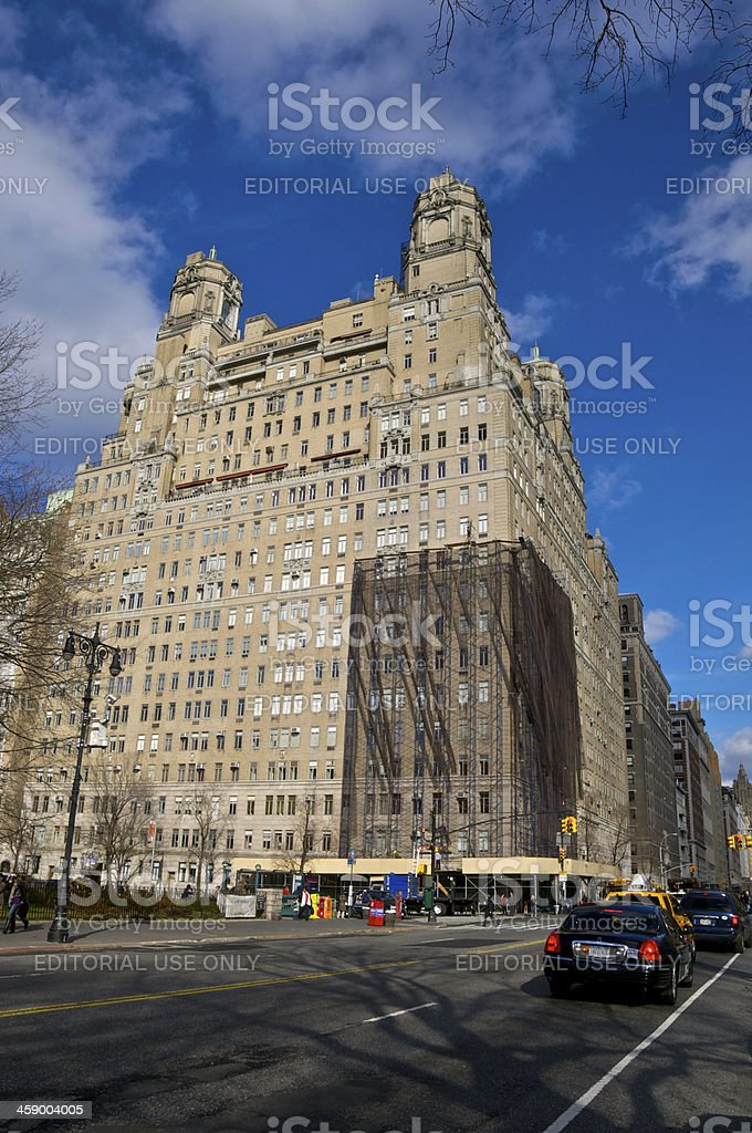 NYC Intersections, W.81st Street & Central Park West, Manhattan stock photo
