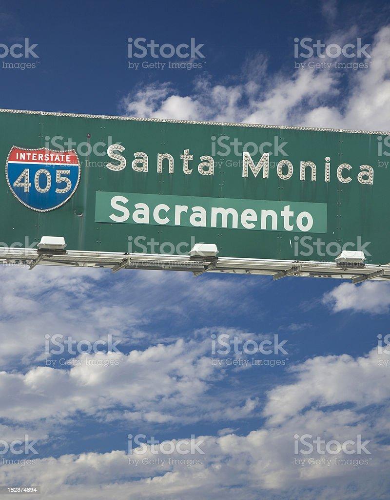 interstate 405 royalty-free stock photo