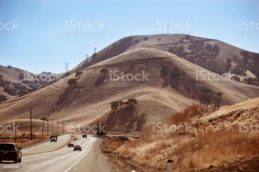 Interstate 80 stock photo