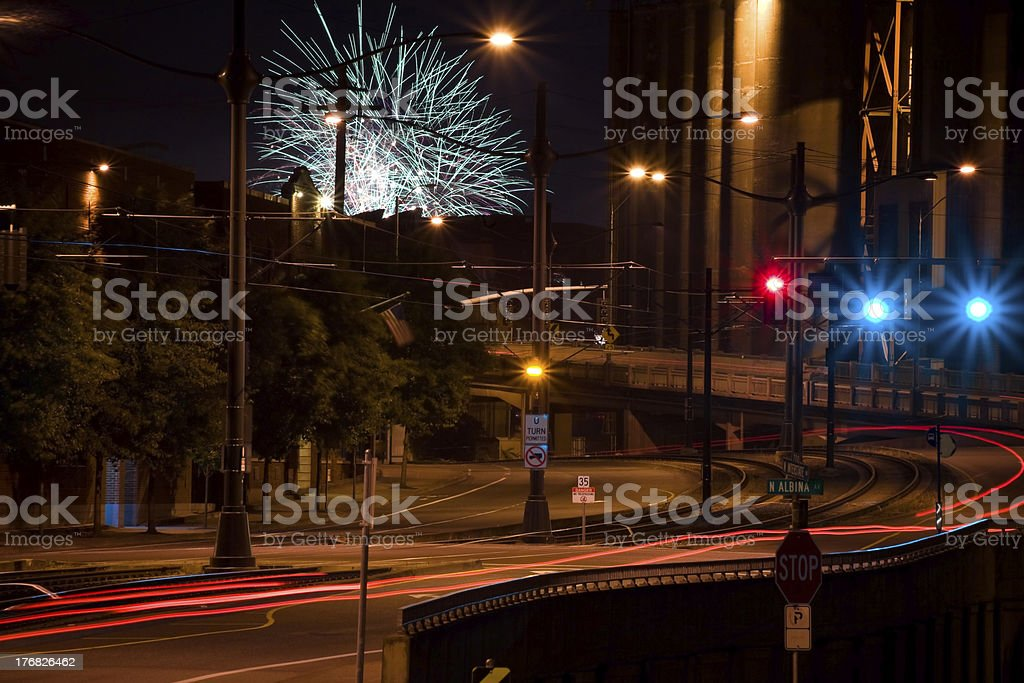 'Interstate Avenue, Portland' stock photo