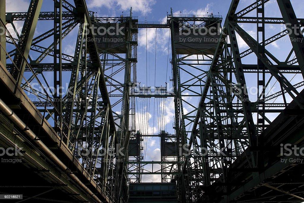 Interstate Bridge royalty-free stock photo