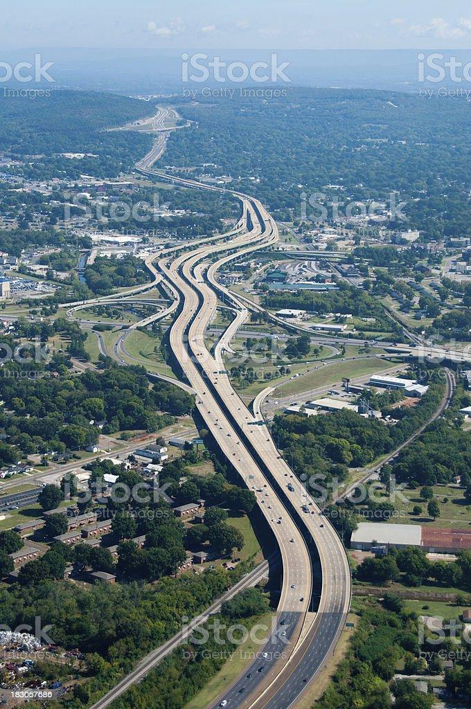 Interstate Highway stock photo