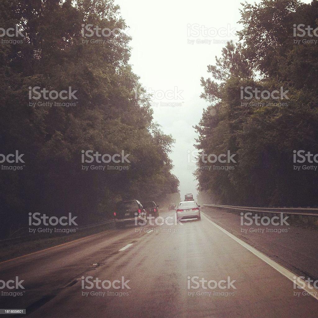 Interstate I-95 stock photo