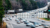 Interstate traffic, South Carolina.