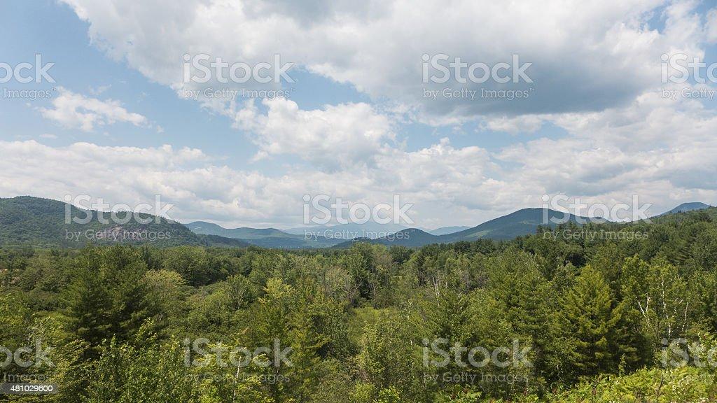 Intervale Scenic Vista View North Conway, NH stock photo
