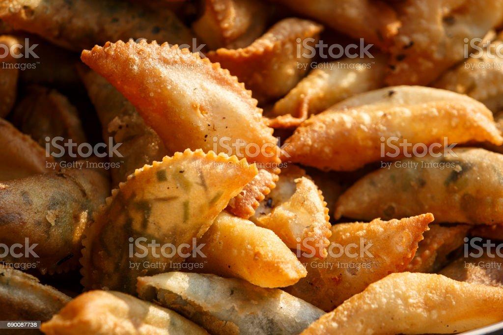 Intha street food stock photo