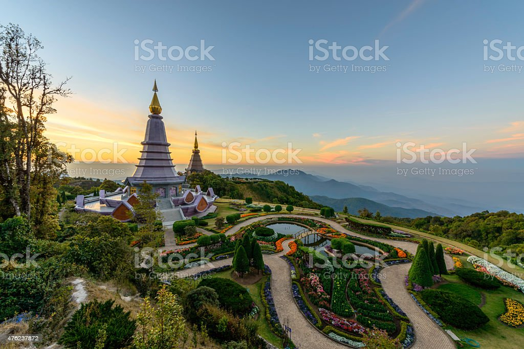 Inthanon mountain, chiang mai, Thailand. royalty-free stock photo