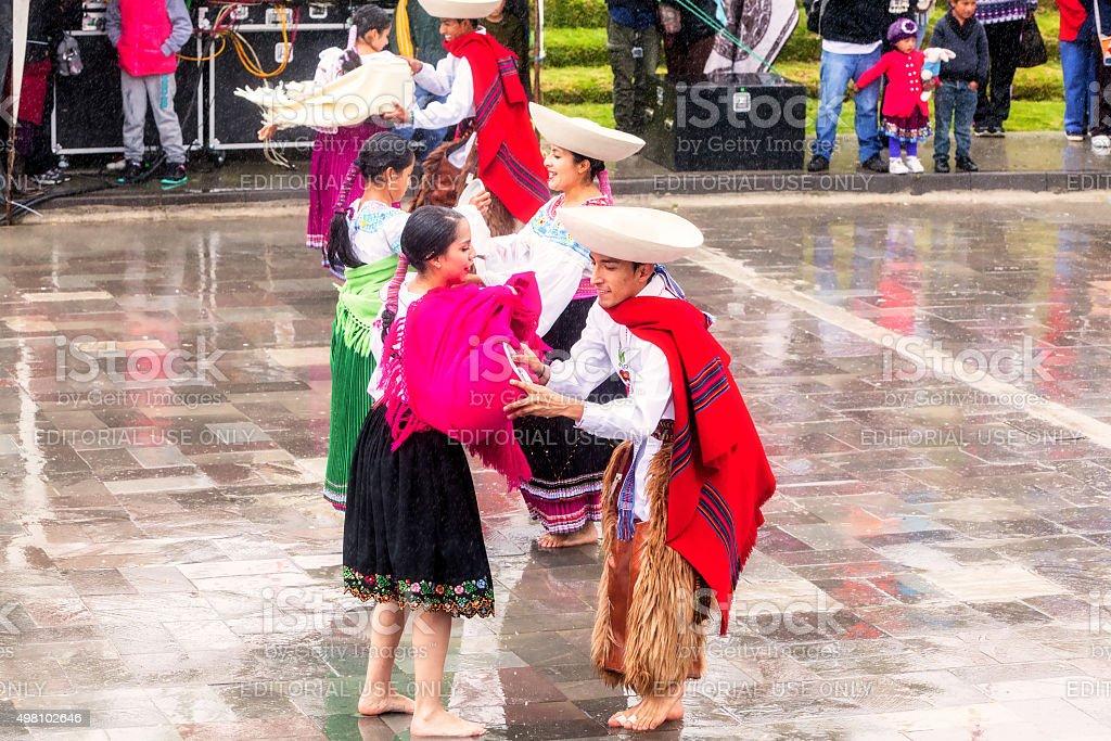 Inti Raymi, Festival Of The Sun stock photo