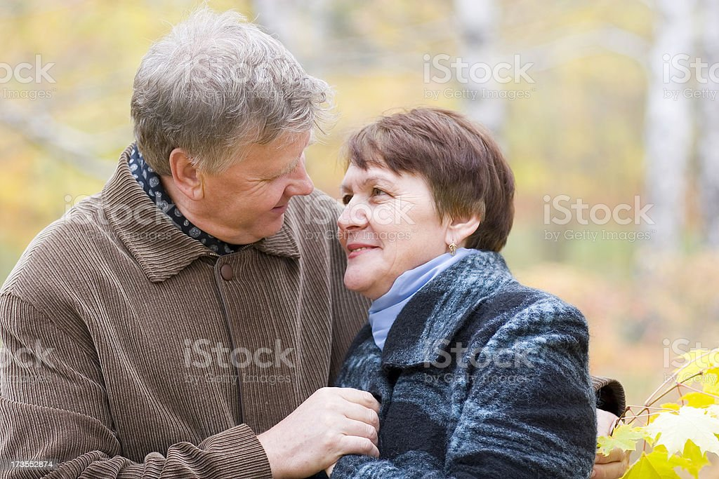Intimate moment royalty-free stock photo
