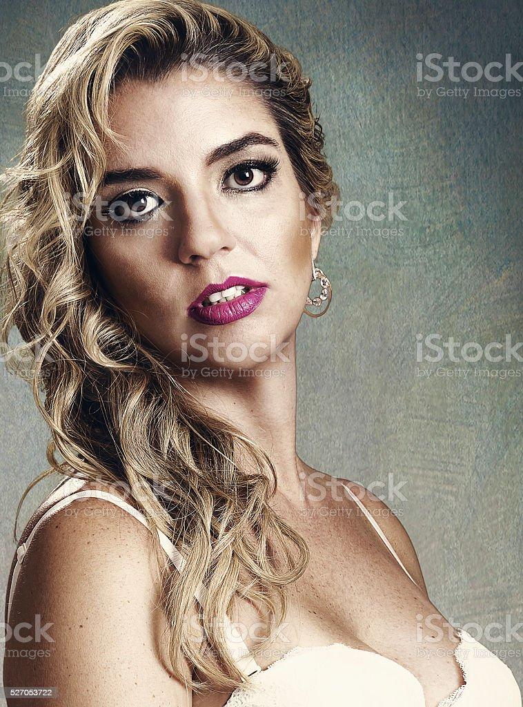 Intimate portrait stock photo