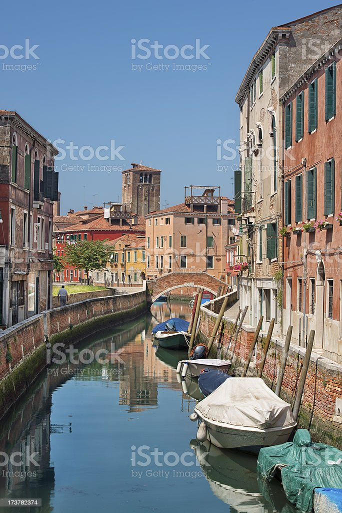 Intimate Venice royalty-free stock photo
