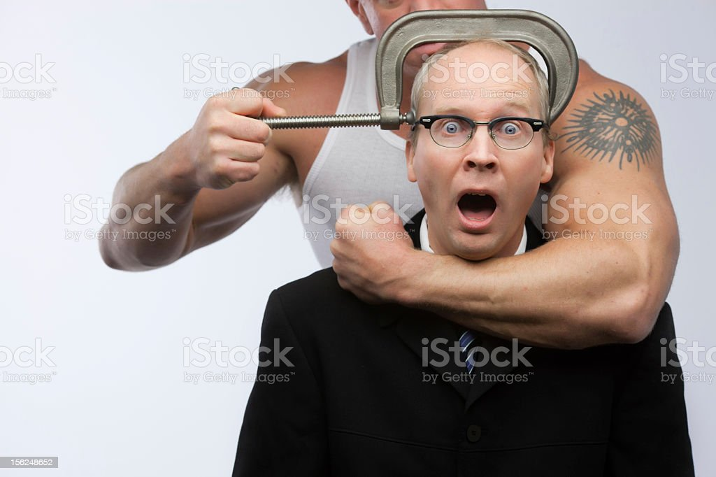 intimidation stock photo