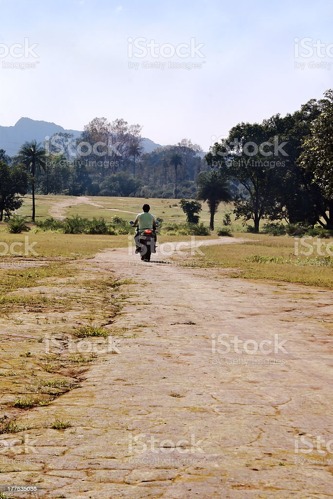 Into the blue yonder royalty-free stock photo