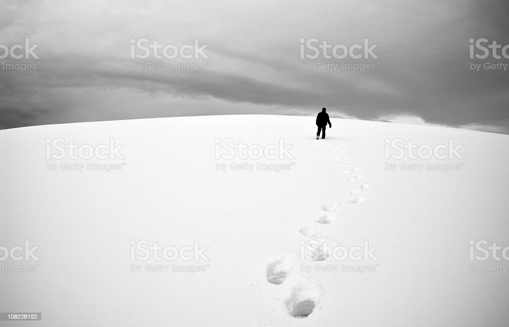 Into the distance . . . stock photo