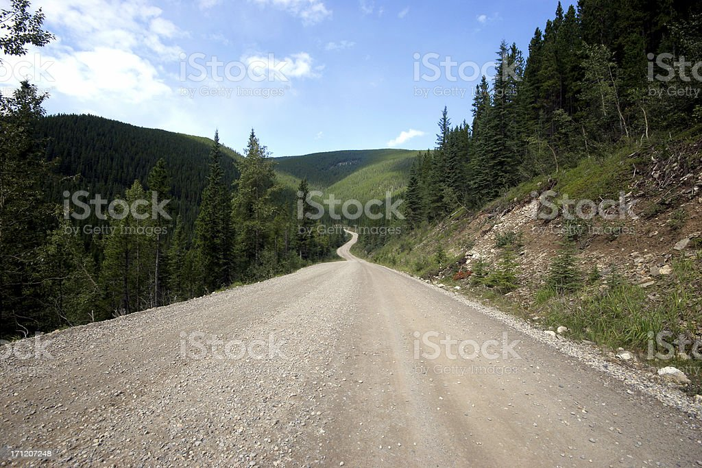 Into The Hills royalty-free stock photo