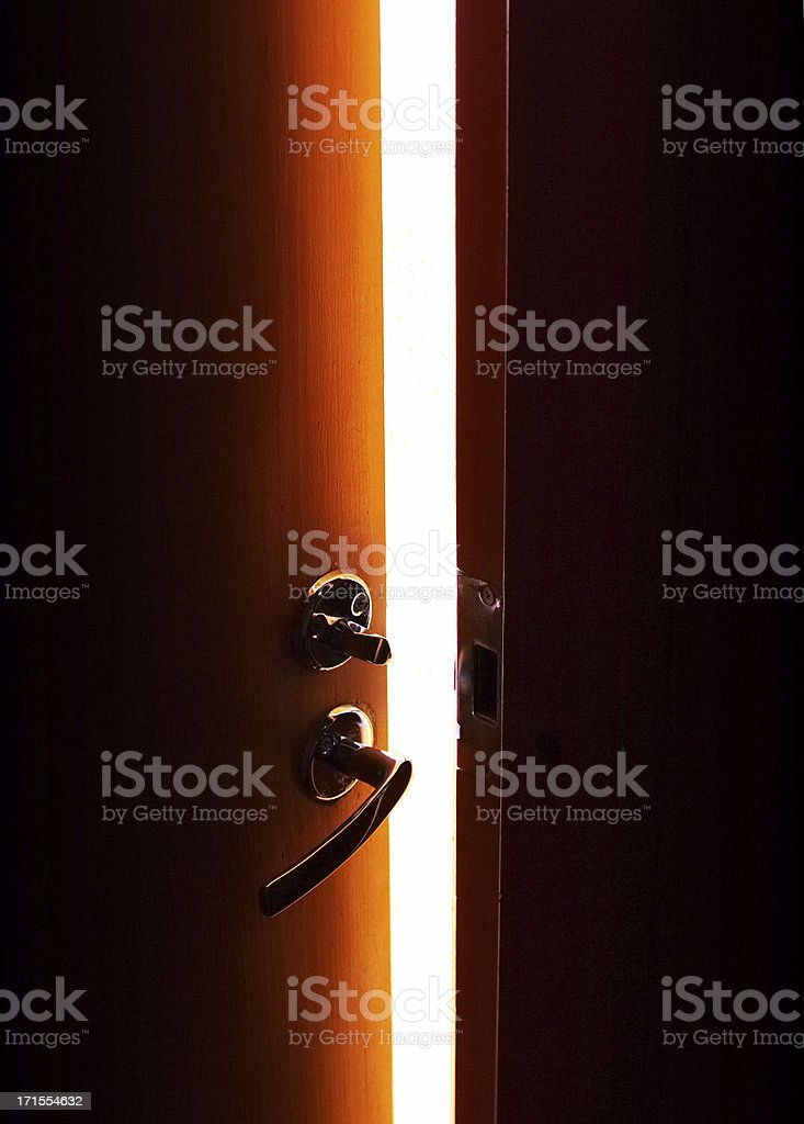 into the light royalty-free stock photo