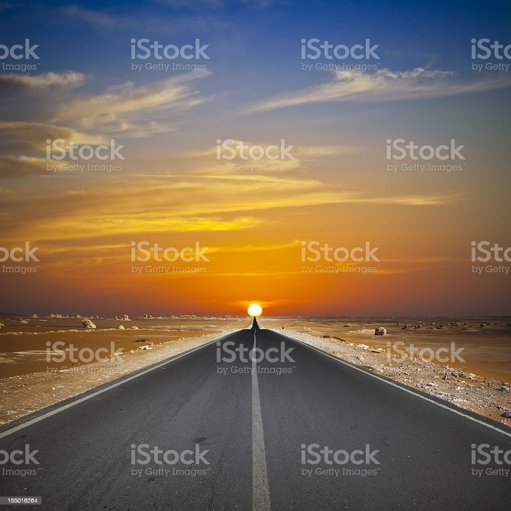 Into the Sun royalty-free stock photo