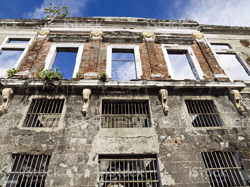 Intramuros Building royalty-free stock photo