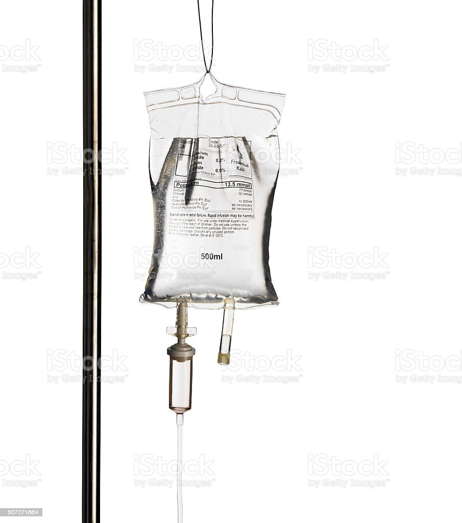 Intravenous Drip stock photo