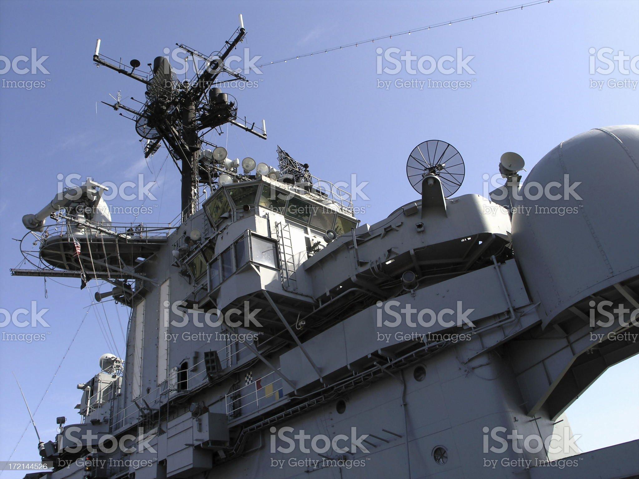 USS Intrepid royalty-free stock photo