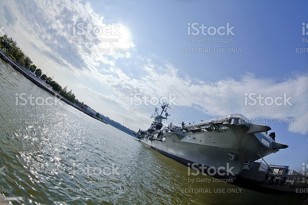 Intrepid Sea Air and Space Museum royalty-free stock photo