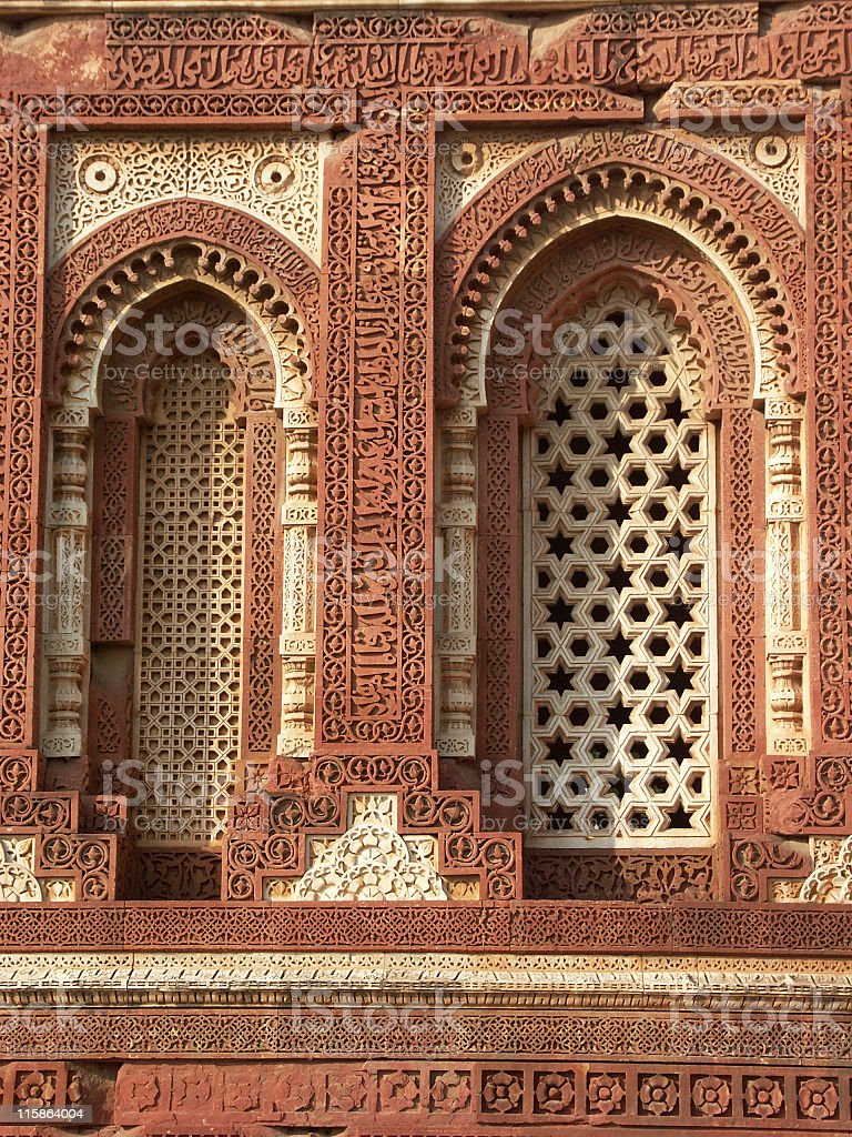 Intricate carvings royalty-free stock photo
