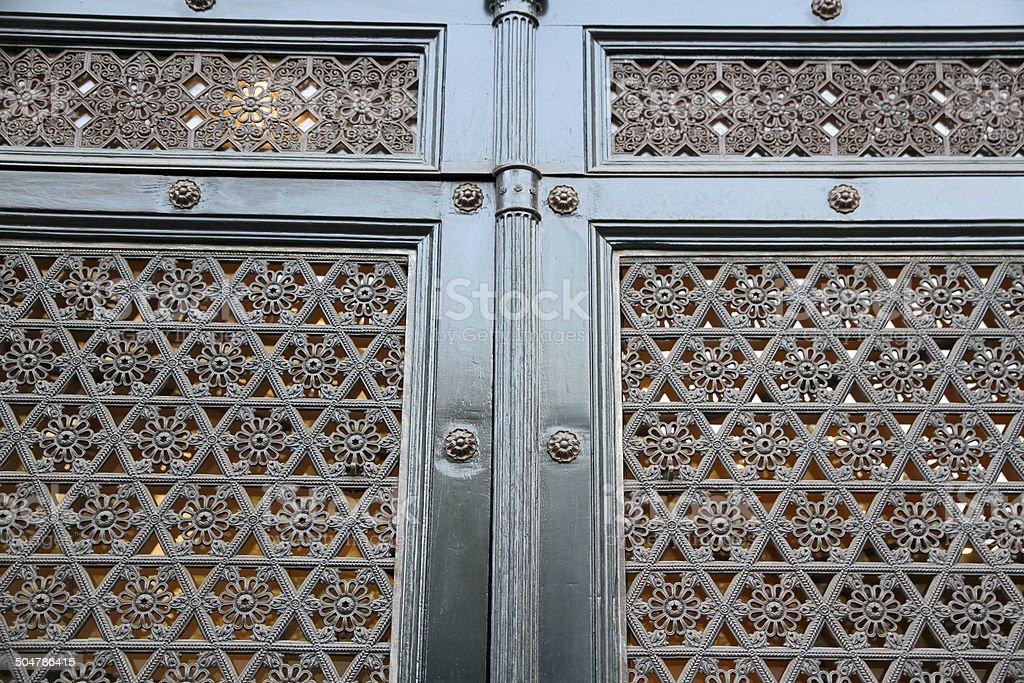 Intricate Doorway royalty-free stock photo