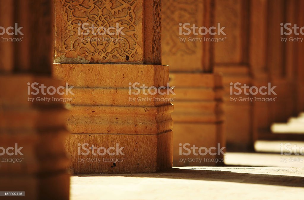 Intricate Foundations stock photo