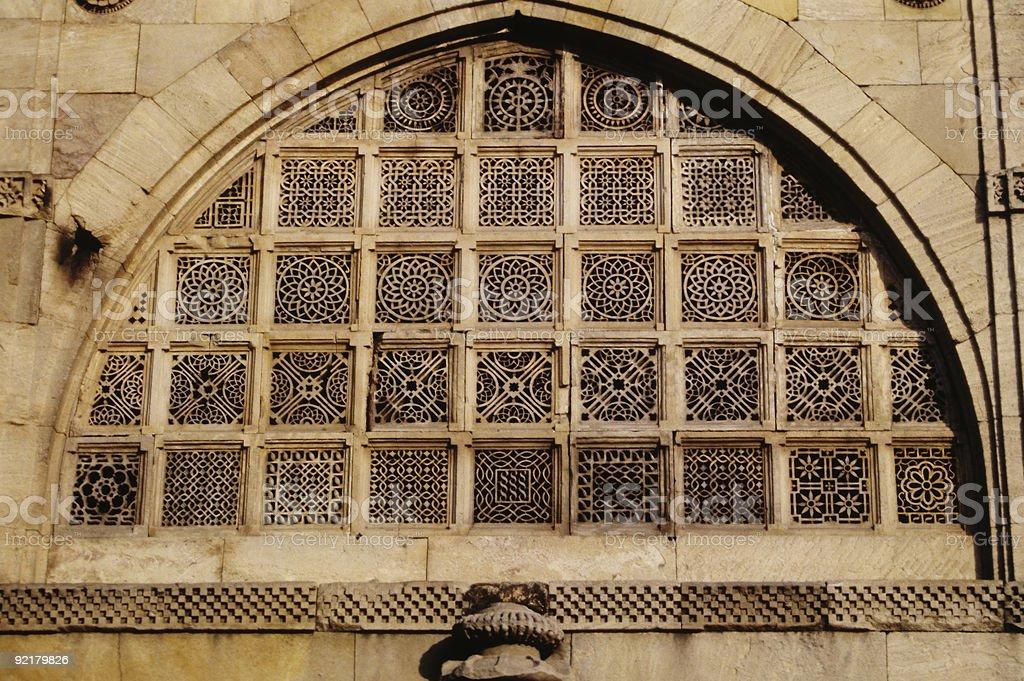 Intricate Islamic Architecture stock photo